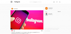 How To use instagram on PC