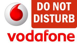 how to activate dnd on vodafone