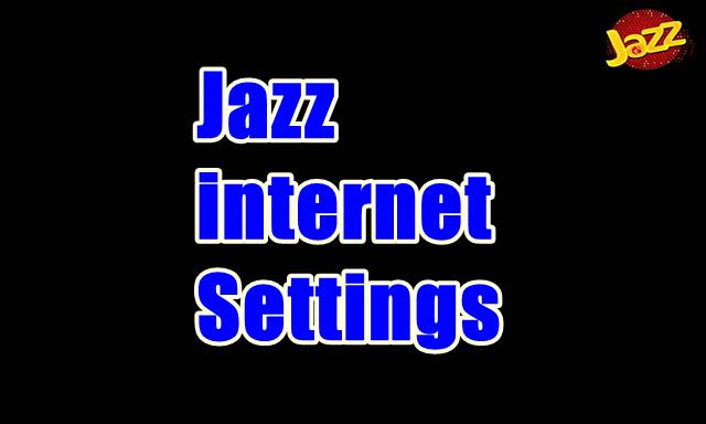 Jazz internet Settings
