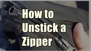 How to Unstick a Zipper,How to Fix a Zipper