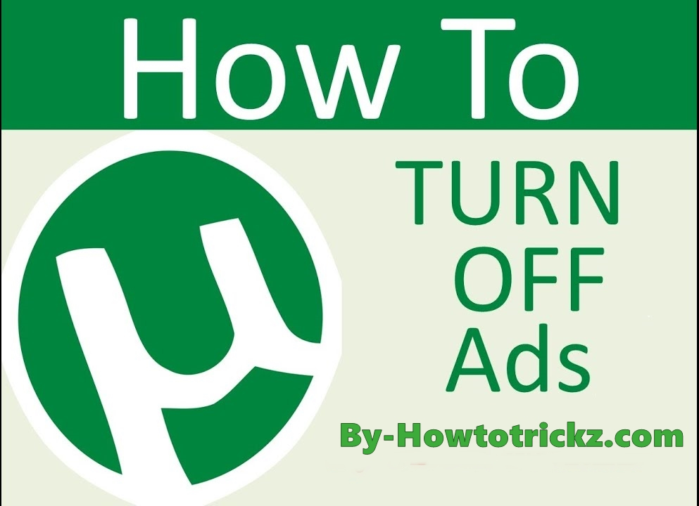 Removed Ads From Utorrent