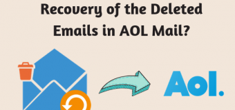 AOL Mail – Recovery of the Deleted Emails in AOL