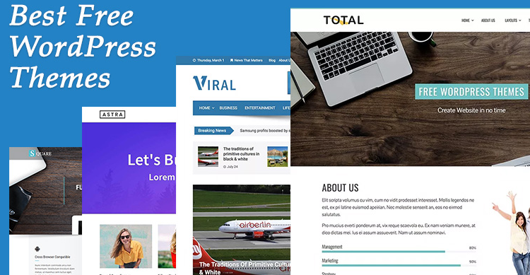 Best 20+ Free WordPress Theme