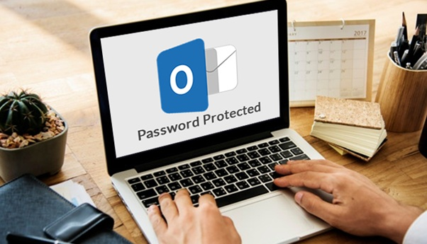 Password Protected PST & Extract Data from it Manually