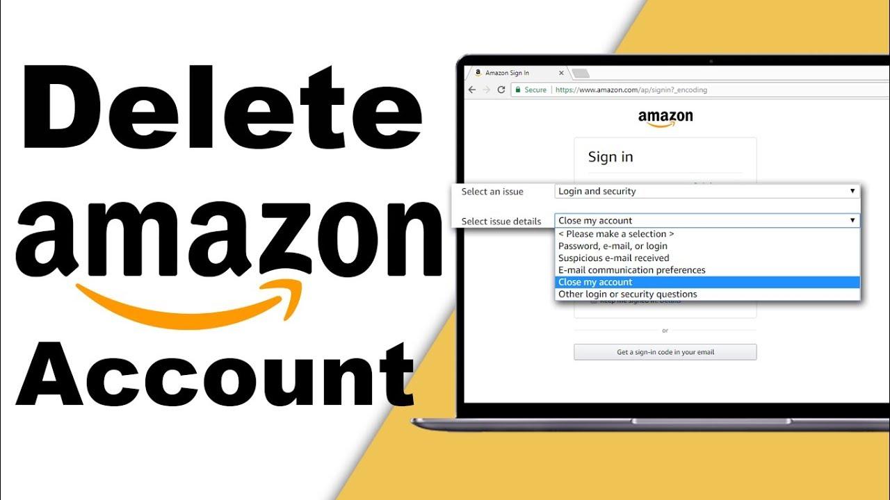 Delete Your Amazon Account