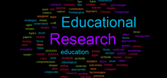 Purpose of Research Paper in Education