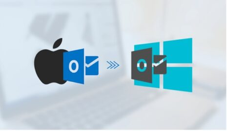 Export Emails from Mac Outlook to Windows Outlook